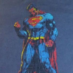 XL Men's Superman Graphic T-shirt